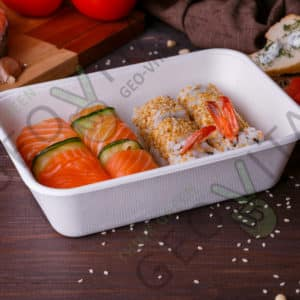 Одноразовый контейнер 600 мл. © GEOVITA - Одноразовая посуда от производителя!
