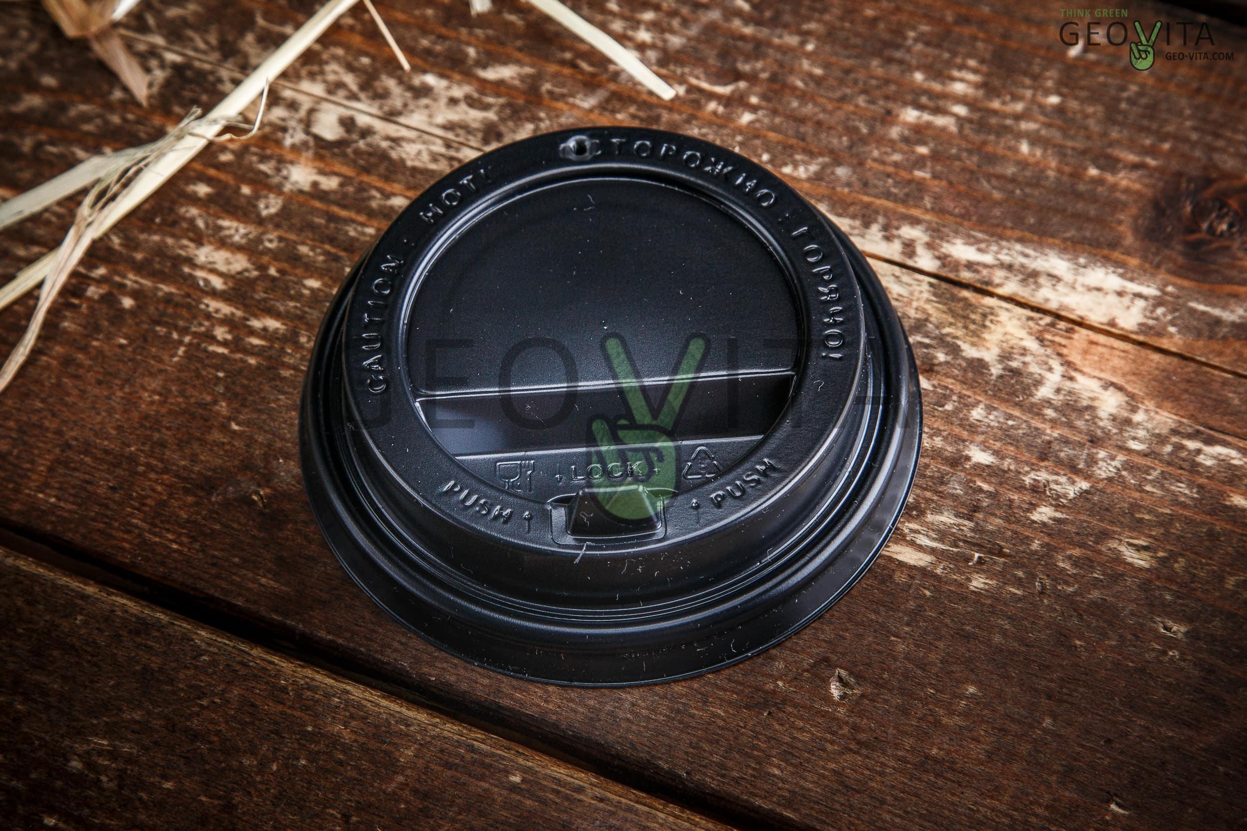Одноразовая крышка для стакана 350 мл. (с клапаном)