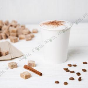 Стакан одноразовый белый © GEOVITA - Одноразовая посуда от производителя!