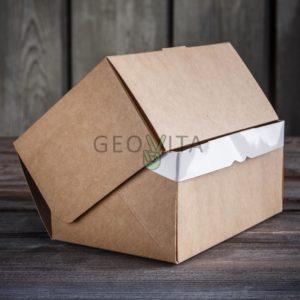 Коробка для десерта © GEOVITA - Одноразовая посуда от производителя!