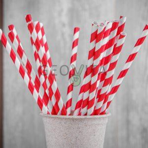 Бумажная трубочка © GEOVITA - Одноразовая посуда от производителя!