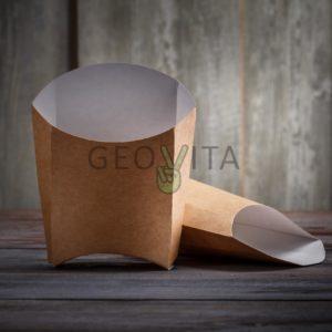 Пакет для картошки фри L © GEOVITA - Одноразовая посуда от производителя!