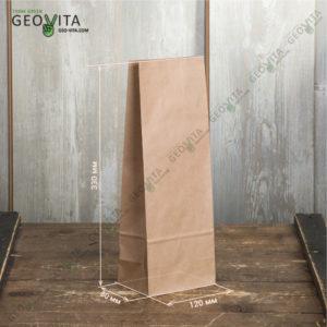Пакет для бутылки 120*80*330 © GEOVITA - Одноразовая посуда от производителя!