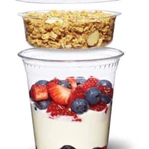 Вкладыш для ПЭТ стакана © GEOVITA - Одноразовая посуда от производителя!