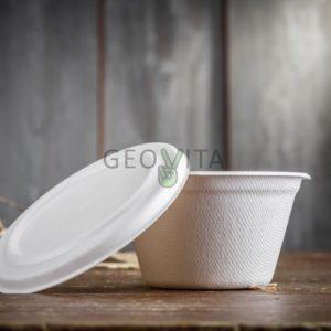 Супница малая с крышкой © GEOVITA - Одноразовая посуда от производителя!