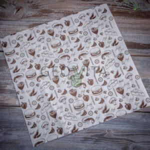 Пищевая оберточная бумага © GEOVITA - Одноразовая посуда от производителя!