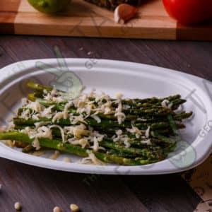 Одноразовый лоток овальный © GEOVITA - Одноразовая посуда от производителя!