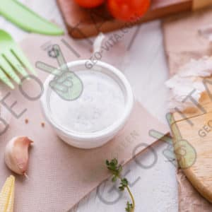 Одноразовая соусница с крышкой © GEOVITA - Одноразовая посуда от производителя!