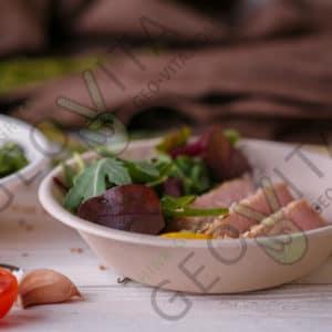 Одноразовая миска 400 мл. © GEOVITA - Одноразовая посуда от производителя!