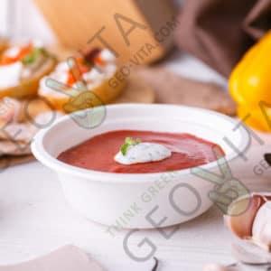 Одноразовая супница 350 мл. © GEOVITA - Одноразовая посуда от производителя!