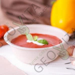 Одноразовая супница 500 мл. © GEOVITA - Одноразовая посуда от производителя!