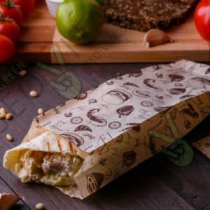 Пакет для шаурмы © GEOVITA - Одноразовая посуда от производителя!