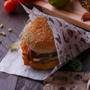 Уголок для гамбургера © GEOVITA - Одноразовая посуда от производителя!