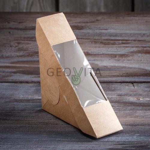 Упаковка для сэндвича малая