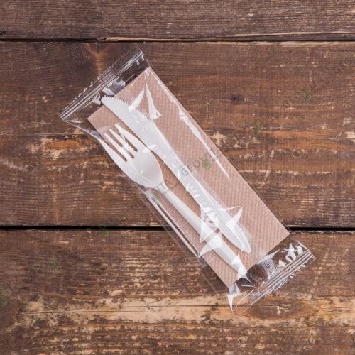 Набор одноразовых приборов 4/2 мал. «вилка/нож»