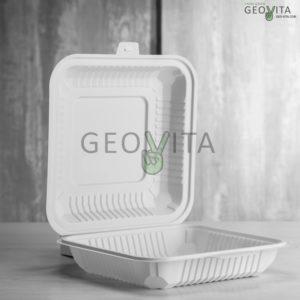 Одноразовый ланч-бокс 1000 мл. © GEOVITA - Одноразовая посуда от производителя!