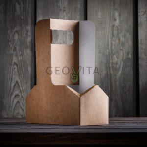 Держатель для стаканов © GEOVITA - Одноразовая посуда от производителя!