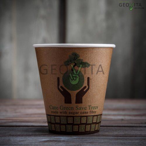 Стакан одноразовый для кофе двухслойный