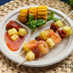 Одноразовая тарелка 9″ – 3 секции © GEOVITA - Одноразовая посуда от производителя!