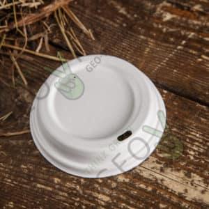 Крышка 90 мм. из сахарного тростника © GEOVITA - Одноразовая посуда от производителя!