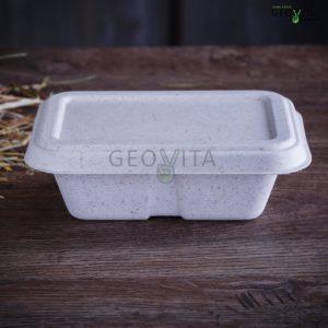 Одноразовый салат бокс белый © GEOVITA - Одноразовая посуда от производителя!