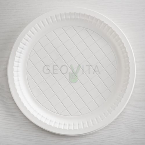 Одноразовая тарелка 9″