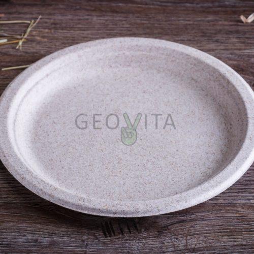 Одноразовая тарелка 8″