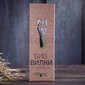 Набор «био вилки» © GEOVITA - Одноразовая посуда от производителя!