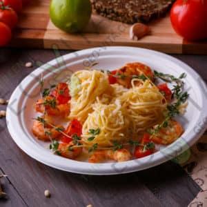 Одноразовая тарелка 9» © GEOVITA - Одноразовая посуда от производителя!