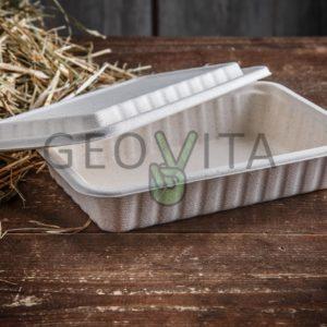 Одноразовый ланч-бокс с крышкой © GEOVITA - Одноразовая посуда от производителя!