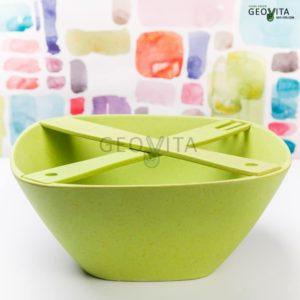 Миска для салата с мешалками © GEOVITA - Одноразовая посуда от производителя!