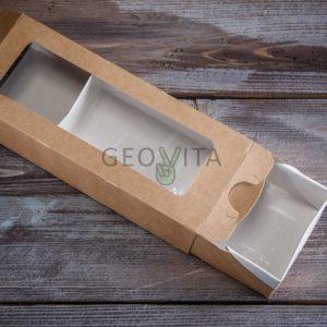 Одноразовый контейнер для еды 500 мл © GEOVITA - Одноразовая посуда от производителя!
