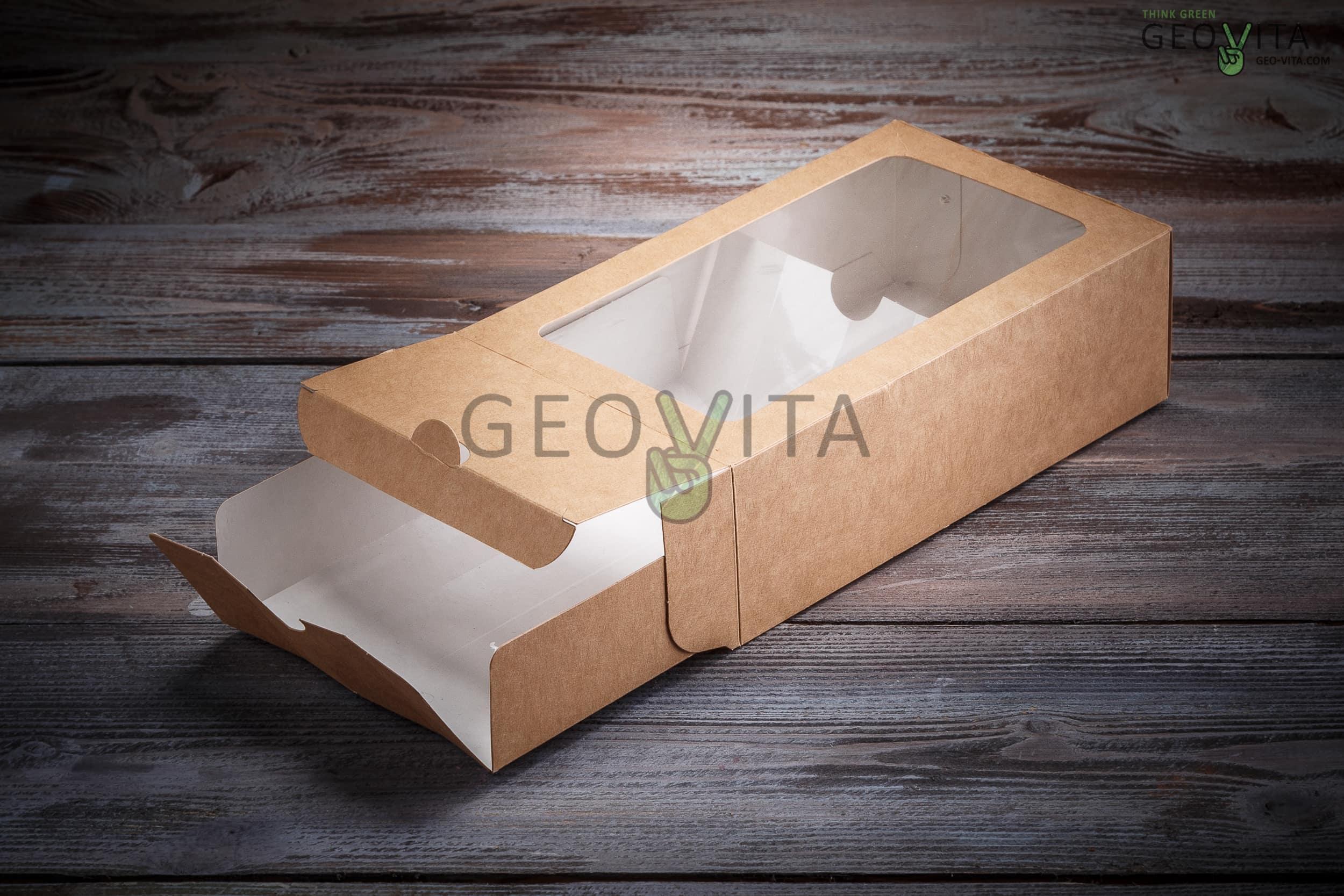 Коробка для макарони (2 ряда)