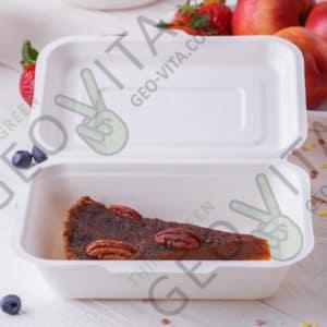 Одноразовый ланч-бокс 500 мл © GEOVITA - Одноразовая посуда от производителя!