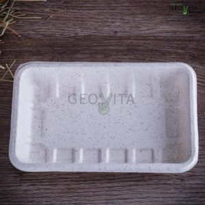 Одноразовый лоток средний © GEOVITA - Одноразовая посуда от производителя!