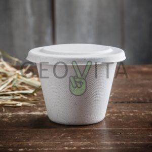 Одноразовая супница 470 мл. © GEOVITA - Одноразовая посуда от производителя!