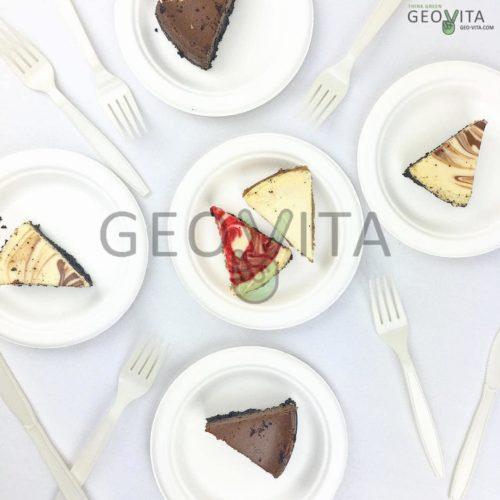 Одноразовая тарелка 6»