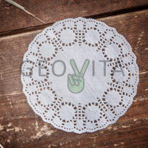 Ажурная салфетка © GEOVITA - Одноразовая посуда от производителя!