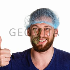 Одноразовая шапочка © GEOVITA - Одноразовая посуда от производителя!
