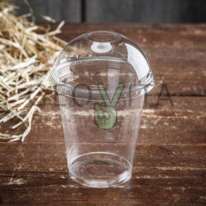 Стакан одноразовый пластиковый 300 мл © GEOVITA - Одноразовая посуда от производителя!