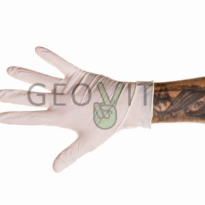 Перчатки латексные © GEOVITA - Одноразовая посуда от производителя!