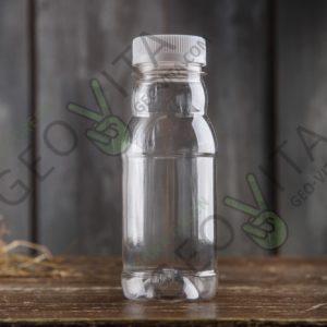ПЭТ бутылка 200 мл. с широким горлом © GEOVITA - Одноразовая посуда от производителя!