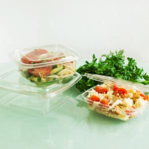 Одноразовый контейнер 1000 мл. © GEOVITA - Одноразовая посуда от производителя!
