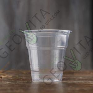 Пластиковая стопка 100 мл. © GEOVITA - Одноразовая посуда от производителя!