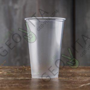 Пластиковый стакан 300 мл. © GEOVITA - Одноразовая посуда от производителя!
