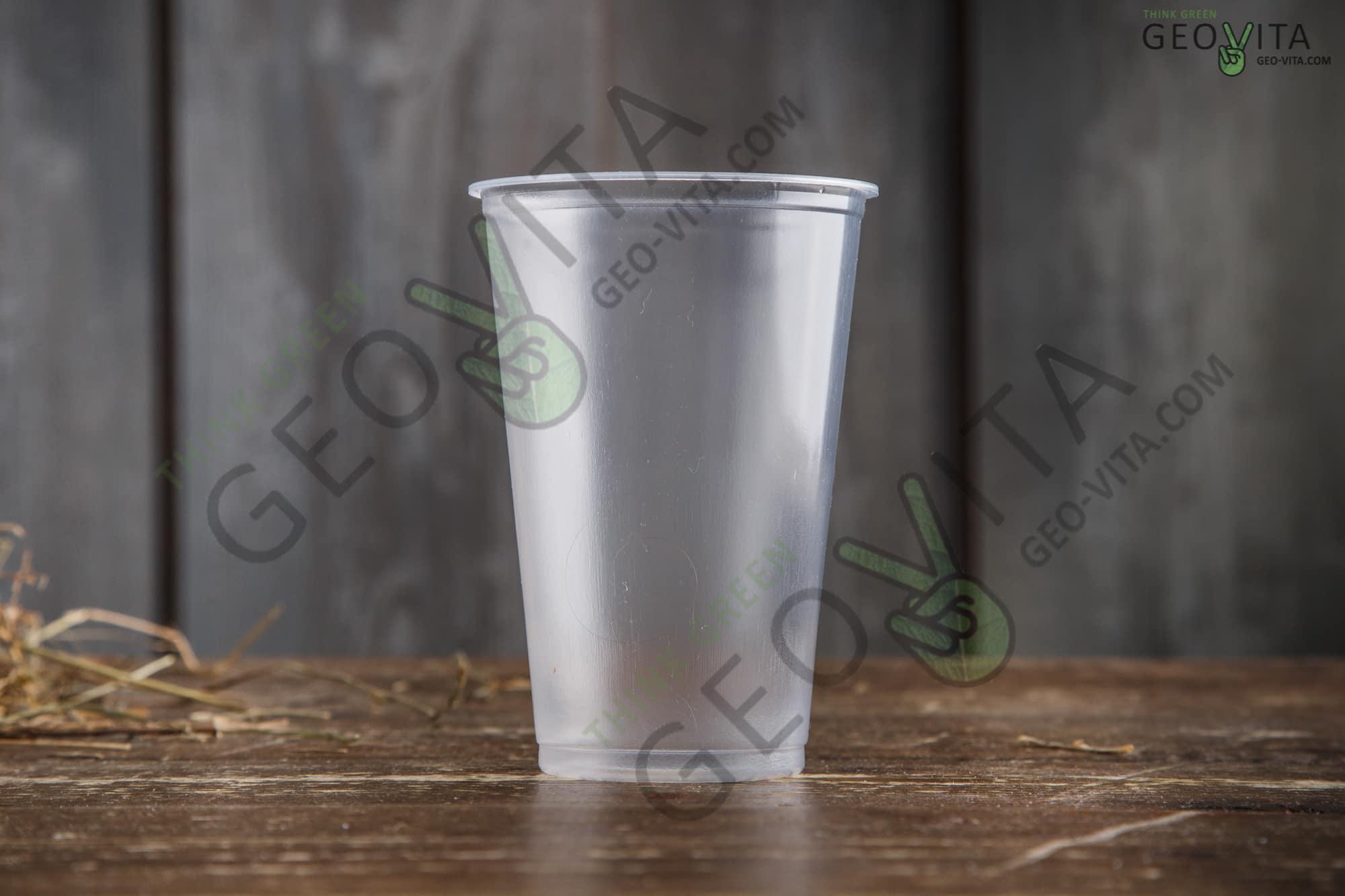 Пластиковый стакан 300 мл.