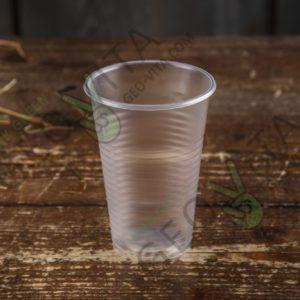 Пластиковый стакан 200 мл. © GEOVITA - Одноразовая посуда от производителя!
