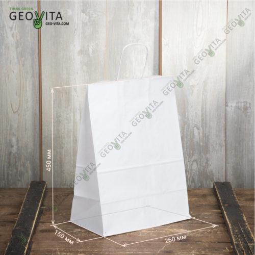 Пакет бумажный 350*150*450