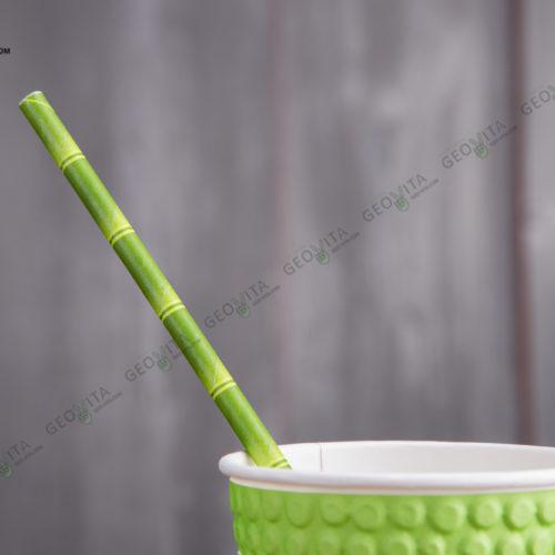Бумажная трубочка «бамбук»