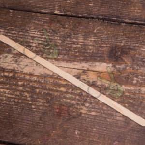 Размешиватель 180 мм. деревянный © GEOVITA - Одноразовая посуда от производителя!